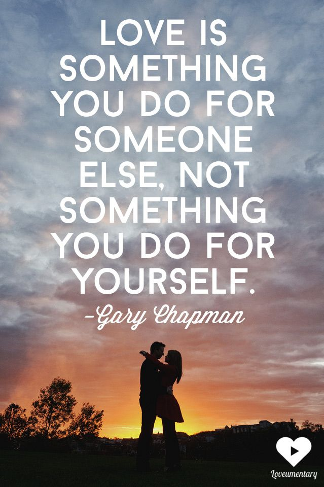 love is something you do for someone else   Gary Chapman   The Loveumentary