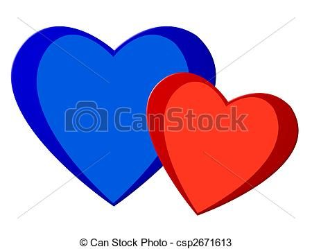 Photo of love, colored Stock Illustrations – Stock Illustration