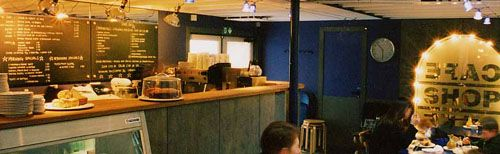 Peerie Shop Cafe, Esplanade, Lerwick, Shetland