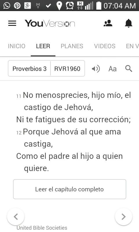 Proverbios 3:11,12