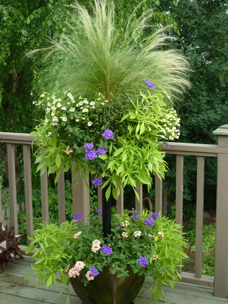 DIY: Side Planting Container Tutorial - learn how to side plant containers like the pros. Video + lots of pictures.