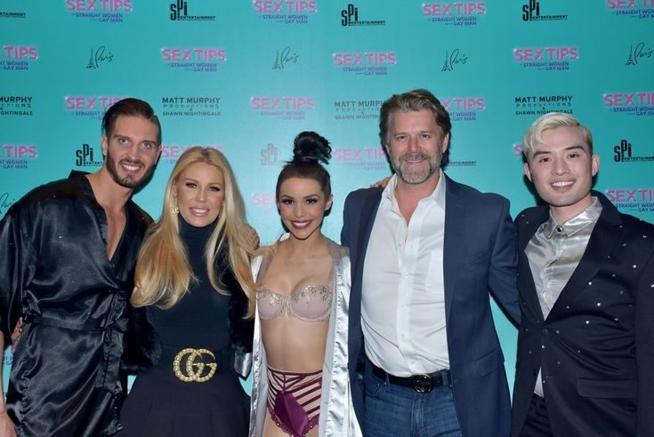 """SIGHTING: """"Real Housewives of Orange County"""" Stars Gretchen Rossi and Slade Smiley at """"Sex Tips for Straight Women from a Gay Man"""" at Paris Las Vegas – Vegas24Seven.com"""