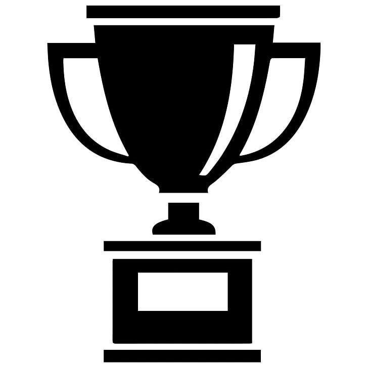 Computer Icons Trophy Award Prize Png Award Black And White Brand Bronze Medal Computer Icons Computer Icon Icon Trophies Awards