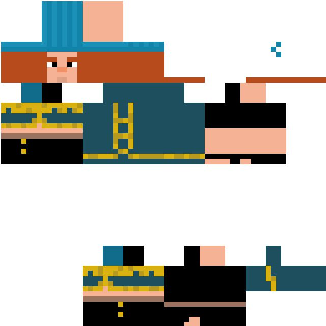 Good Stories Belong On Skin: My Minecraft Story Mode Petra Skin! Change It To 64x64