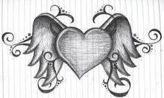 heart with wings by amanda11404.deviantart.com on @deviantART