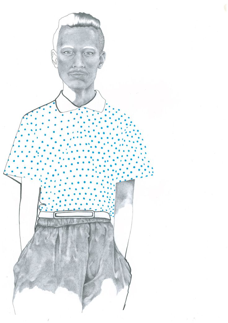 Menswear Fashion Print from Original Pencil and Ink Illustration by Katie Munro 'CDG x H&M' Wall Art, Home Decor by KatieMunroPrints on Etsy