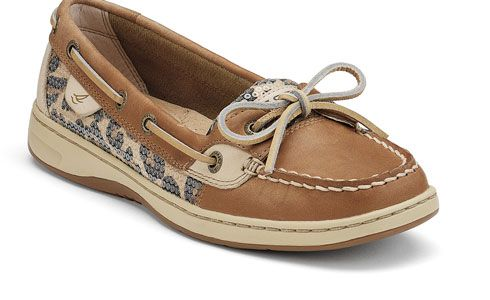 WANT!!!: Fashion, Boats Shoes, Sperry Tops Sid, Sperry Women, Women Angelfish, Clothing, Sequins, Leopards Prints, Leopards Sperry