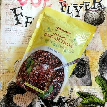 Trader Joe's Organic Red Quinoa $5.99     #TraderJoes #Organic #RedQuinoa #トレーダージョーズ #オーガニック #キヌア