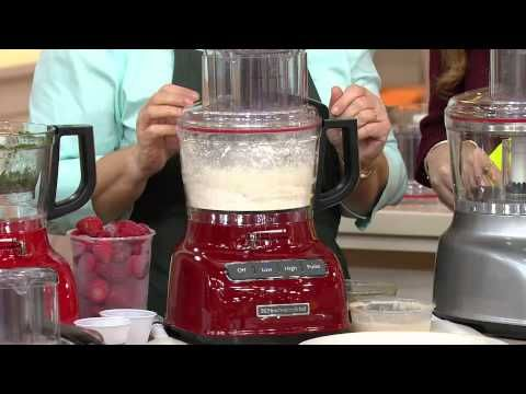 KitchenAid 13-Cup Food Processor w/ Dicing Kit & Exact Slice with Mary Beth Roe - YouTube