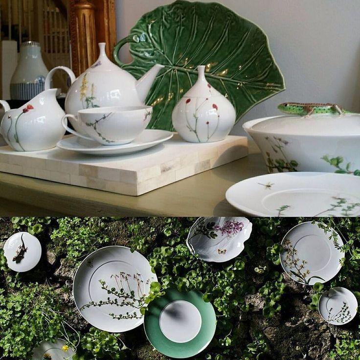 Prairie Tea Service from Vista Alegre At Mar Decor