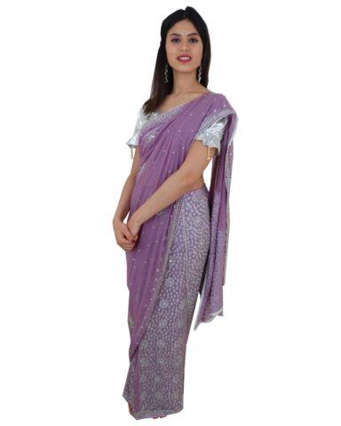 Lehenga Sari Bollywood Radiya Mauve