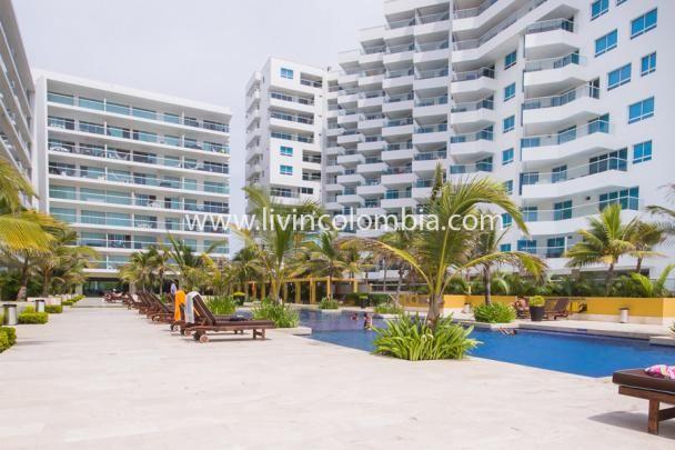 Espectacular Edificio ubicado en la Zona de Morros en la Boquilla en Cartagena de Indias. Salida directa a la playa, amplias piscinas, Lujo y comodidad para unas vacaciones soñadas.