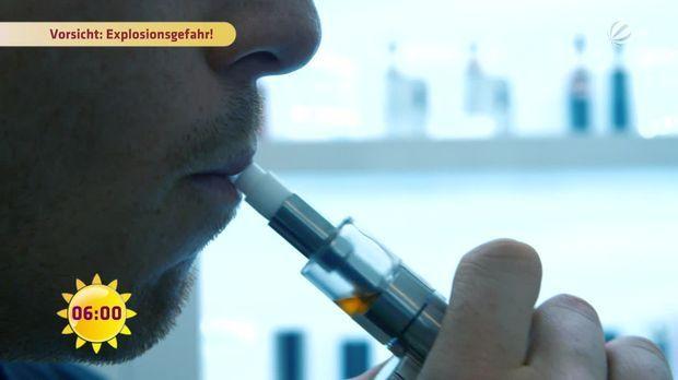 Vorsicht, Lebensgefahr bei E-Zigaretten! - Frühstücksfernsehen - Sat.1