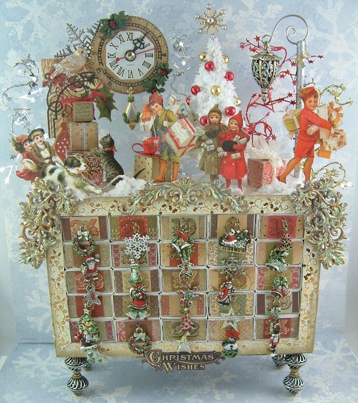 Art Advent Calendar : Best christmas advent calendars images on pinterest
