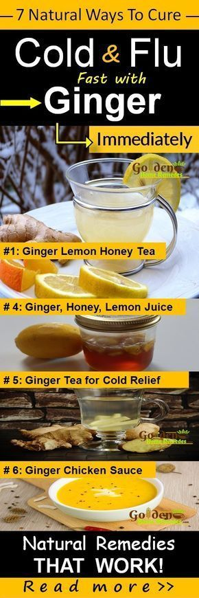 Ginger Cold and Flu, How To Get Rid Of Cold: 7 Natural Remedies That Work Fast to Cure Cold with Ginger, Common Cold Treatment At Home, Cold Causes, Symptoms and Treatments. Cold is an uncomfortable problem faced by many of us at least once in our life time. Ginger is a natural antiviral which helps to fight against illness and bacteria that causes cold. However in some cases, cold can lead to throat infections, strep throat and bronchitis. There are various natural solutions which use…
