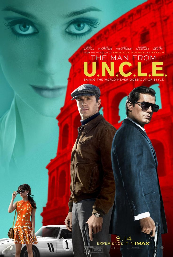 Looks can kill. Director @realguyritchie shares the final poster for #ManFromUNCLE. Catch the new trailer tomorrow!