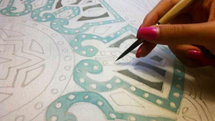 Work in progress by Carla Caroli