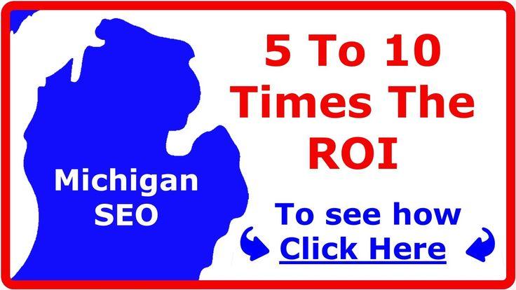 Michigan SEO Company Delivers Huge ROI (#1 SEO companies MI) Expert Service Grand Rapids, Detroit. https://www.youtube.com/watch?v=3zt7Rn5kcqA