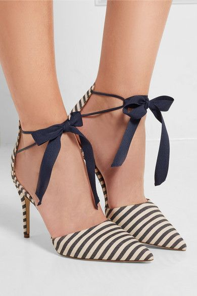 The most perfect striped shoes!