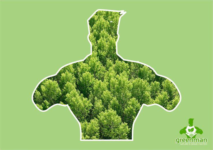 Greenman, dedicated to the planet!  #GreenmanInternational #EcoWarrior #Environment