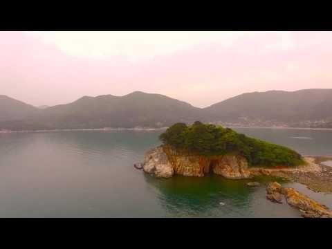Island off Gujora Beach Geoje - YouTube