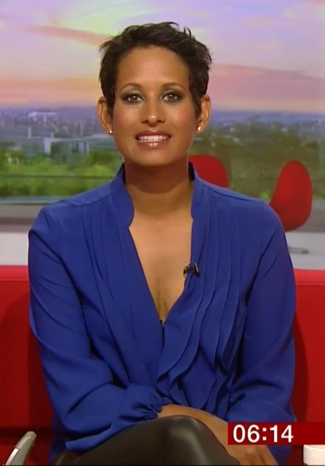 Naga Munchetty In Leather Leggings Bbc Presenters Tv Presenters Tv Girls