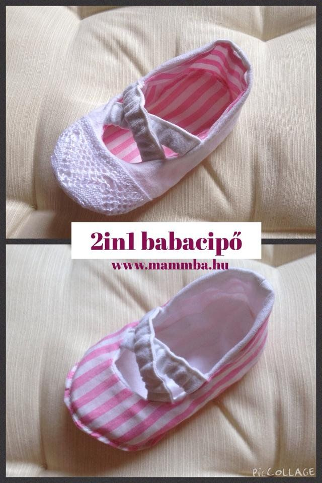 Ki-befordíthatós Babacipő kislányoknak 0-12 hónapos korig - Baby reversible baletts for baby girls from 0-12 months  #christening #babyshoe #reversible www.mammba.hu