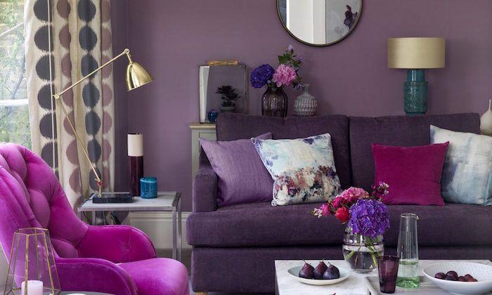 Couleur Mauve 50 Nuances De Violet Decoration Purple