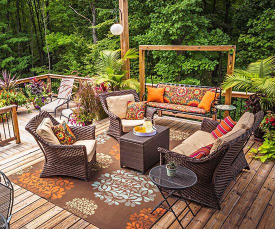 1000 images about how to build a deck on pinterest for Beautiful garden decking