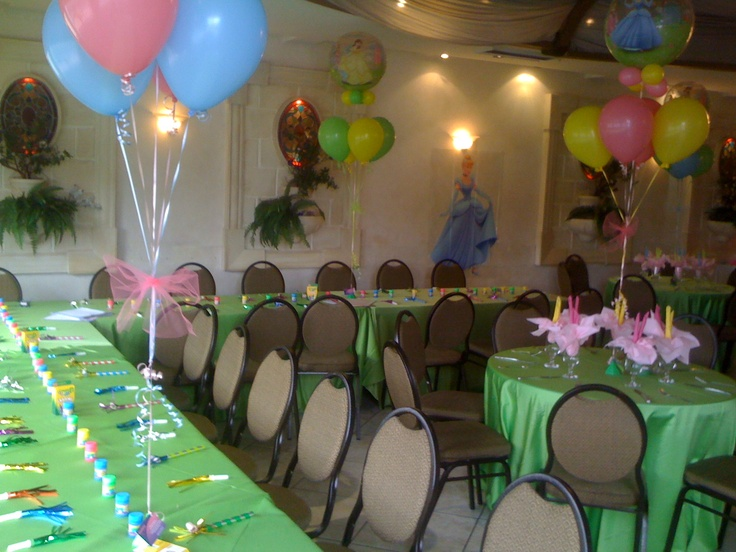 Bright and fun Princess theme party!