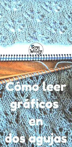 Como ler gráficos / símbolos tricotando duas agulhas: Punto de Flores
