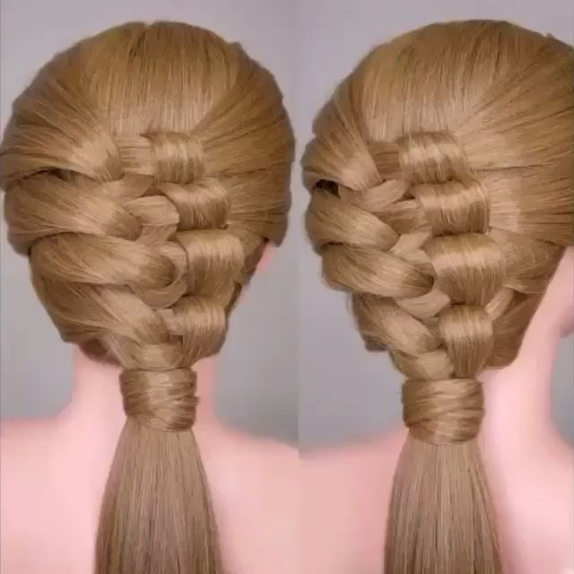 OMG😳 so interesting braid and easy too😍