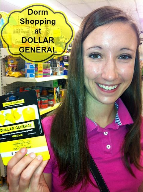 College Dorm Shopping at Dollar General #teens #backtoschool #college