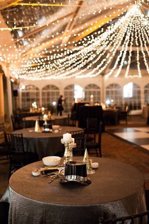 A Glamorous New Year's Eve Wedding in Washington, D.C.