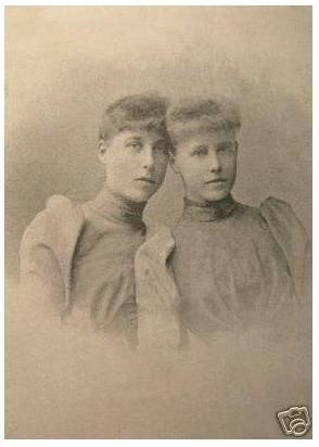 Princesses Victoria Melita and Marie of Edinburgh