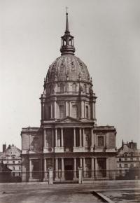 LE DOME DES INVALIDES, TOMBEAU DE NAPOLEON I, PARIS, CIRCA 1855 by BALDUS, EDOUARD (1813-1889) - photograph for sale from Beetles & Huxley