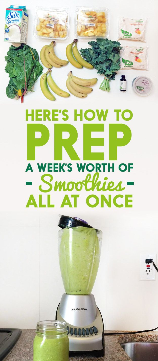 freeze ahead smoothie recipe