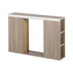 photo Promotion -33 % COTECOSY Tête de lit adolescent 100 cm Chêne clair et Blanc ABEL (ancien prix : 103.00€)