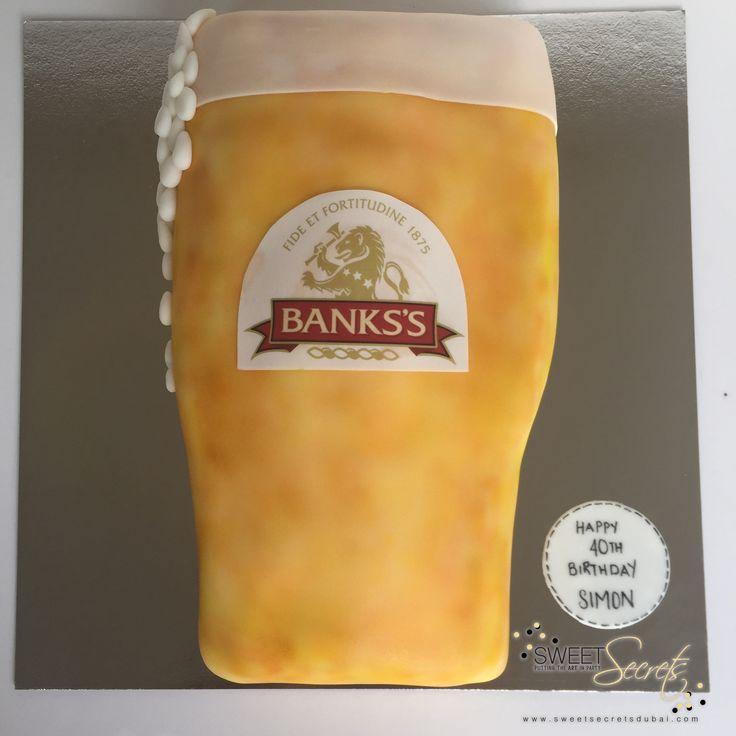 Beer! Sweet Secrets, Novelty Cakes Dubai. www.sweetsecretsdubai.com