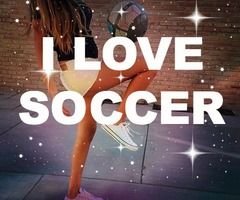 This describes me perfectly! A bit girly but loves soccer and doesn't mind getting my uniform and cleats dirty!