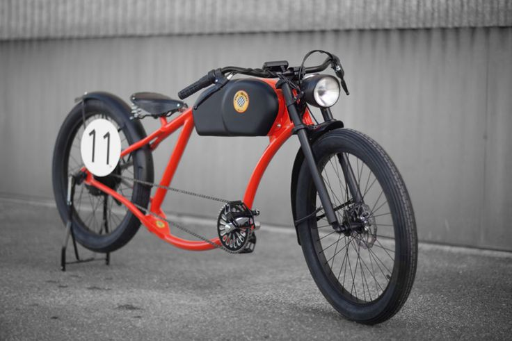 hand-crafted OTO electric bikes resemble retro motorcycles