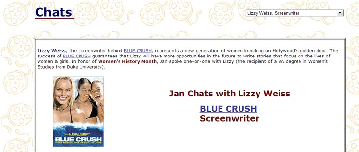 Read my chat with Lizzy Weiss