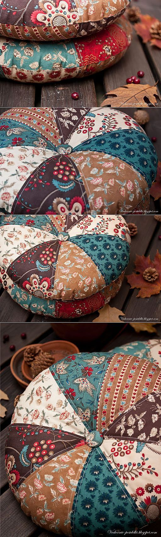 almofada redonda / travesseiros redondas - serões