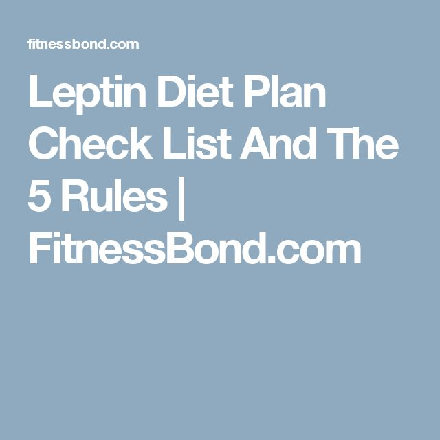 Natural Ways To Increase Your Leptin Levels