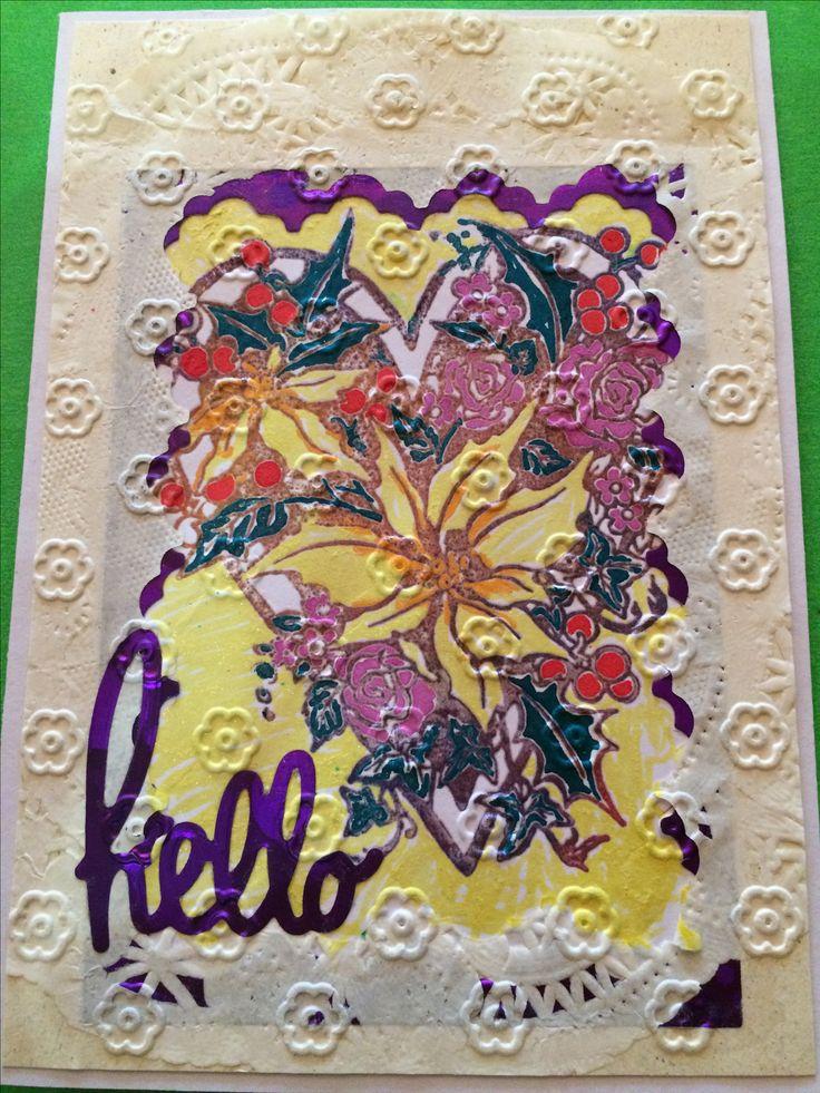 Hello Doillie card