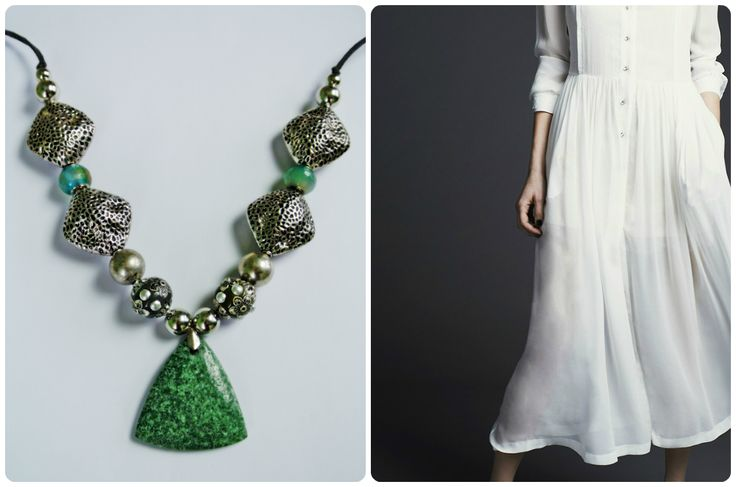 HAVA Collection. Green 01 Necklace