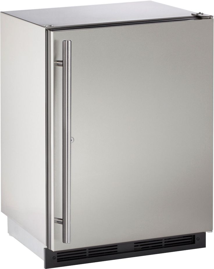 "U-Line U1224RSOD00B 24"" Energy Star Rated Outdoor Built-In Outdoor Refrigerator"