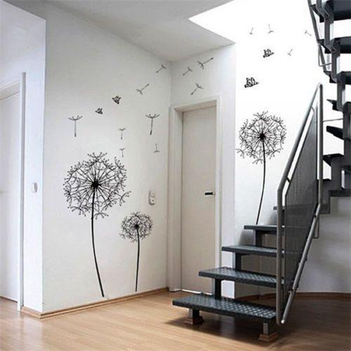Aliexpress.com: Koop zwart paardebloem bloemen boom muurschildering vlinders muursticker home decor sticker pf van betrouwbare sticker folie leveranciers op The way you are