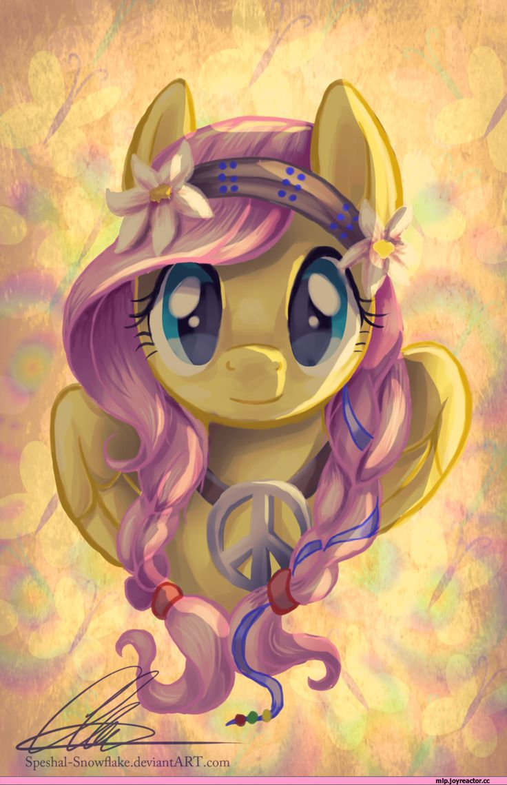 Fluttershy our world's Peacemaker