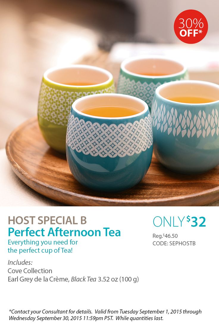 September Host Special B - Perfect Afternoon Tea